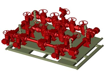 valves, manifolds,BOP,pipeline, drilling, oilfield